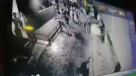 Video muestra asesinato de un joven en Trujillo