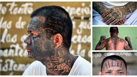 20 fotos de los tatuajes que quieren borrarse los pandilleros arrepentidos de la Mara Salvatrucha