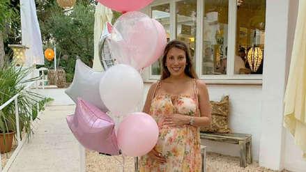Delly Madrid celebra el baby shower de sus mellizas en España [FOTOS]