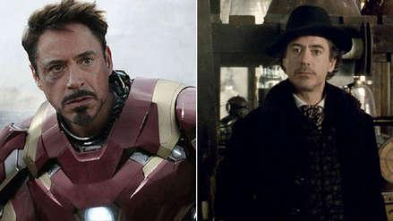 Robert Downey Jr. se despide de Iron Man para volver a ser Sherlock Holmes