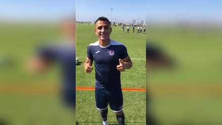 Yoshimar Yotún se sumó los entrenamientos de Cruz Azul