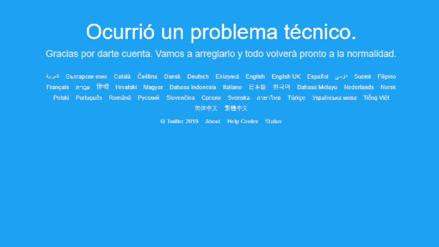 Twitter vuelve a la normalidad tras caída del servicio