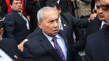 Pedro Chávarry solicitó reprogramar pleno para debatir denuncia constitucional en su contra