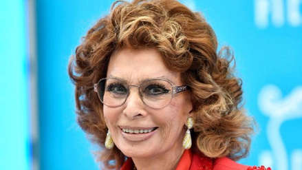Sophia Loren regresará a la gran pantalla a sus 84 años en película dirigida por su hijo