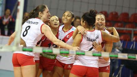 ¡Buen debut! Perú derrotó al campeón China en el Mundial de Voleibol Sub 20