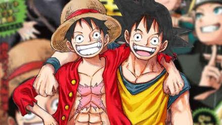 Creador de One Piece declaró su fanatismo por Dragon Ball y dibujó a Gokú a su estilo