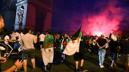 Decenas de detenidos en París por disturbios tras la victoria de Argelia en la Copa África