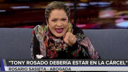 Rosario Sasieta sobre Tony Rosado: