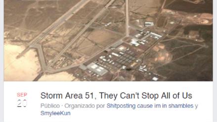 """Área 51: Evento de Facebook reúne a más de un millón de personas para """"asaltar"""" el enigmático lugar"""