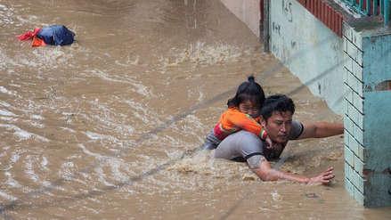 Imágenes que revelan la magnitud de las inundaciones que dejan 18 muertos y 900 mil afectados en Nepal e India
