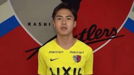 ¡Es oficial! El Barcelona fichó al delantero japonés Hiroki Abe, del Kashina Antlers