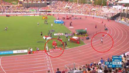 Creyó que había ganado carrera de 5,000 metros, pero contó mal las vueltas: este fue el resultado final