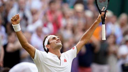 Mira las mejores imágenes de la victoria de Roger Federer en la semifinal de Wimbledon
