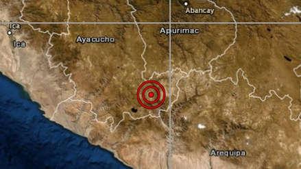Un sismo de magnitud 4.5 remeció la región Ayacucho