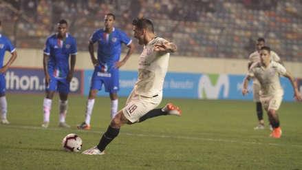 Universitario de Deportes: Germán Denis anotó de penal ante Unión Comercio