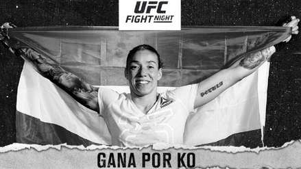 UFC Fight Night 155: Germaine de Randamie venció a Aspen Ladd con un tremendo nocaut técnico