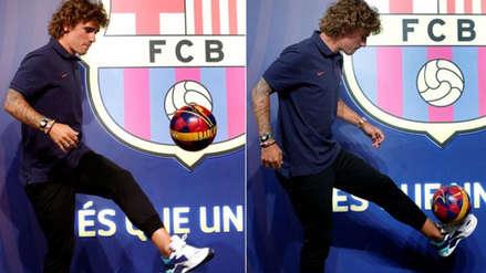 Antoine Griezmann: así dio sus primeros toques como jugador de FC Barcelona
