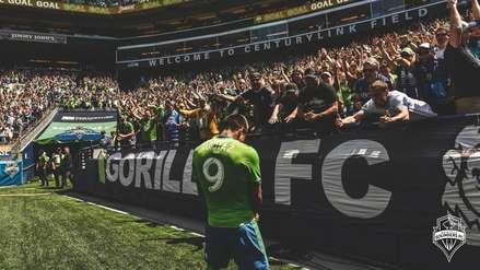 La explosiva celebración de Raúl Ruidíaz tras su golazo con Seattle Sounders