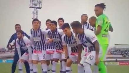 ¡Por tardón! Joazhiño Arroé no pudo salir en la foto de Alianza Lima previo al partido con Sport Boys