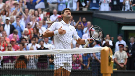 ¡Partidazo! Revive el punto que le dio la victoria a Novak Djokovic en la gran final de Wimbledon