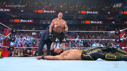 WWE Extreme Rules 2019 | ¡Lesnar canjeó el maletín! Conoce todos los resultados del evento
