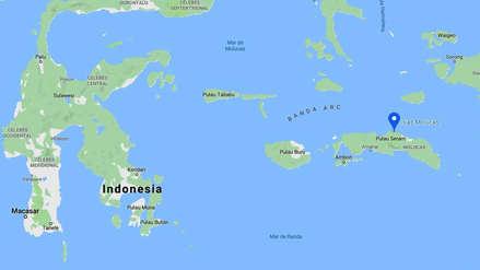 Fuerte terremoto de magnitud 7.3 sacudió las islas Molucas en Indonesia