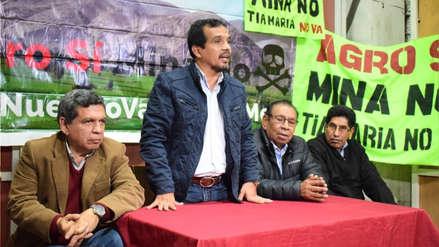 El Frente Amplio exige la derogación de la licencia de construcción del megaproyecto minero Tía María