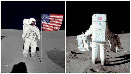 50 años después: 8 fotos del viaje que llevó al hombre a la Luna por primera vez