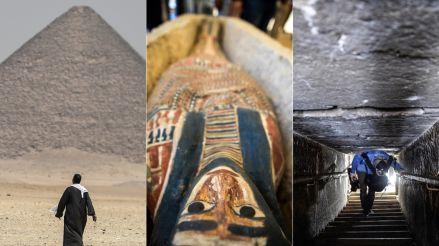 Egipto abrió al público dos nuevas pirámides de 4,600 años de antigüedad [FOTOS]