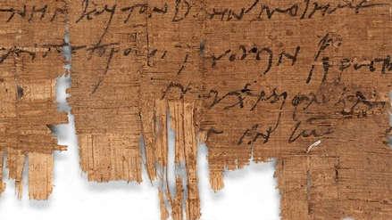 Científicos encontraron la carta enviada por un cristiano más antigua del mundo: este era su mensaje