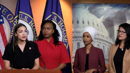 Congresistas demócratas responden a los ataques racistas de Donald Trump: