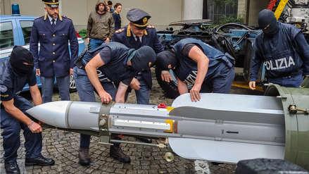 Incautan un arsenal de guerra a simpatizantes de la extrema derecha en Italia