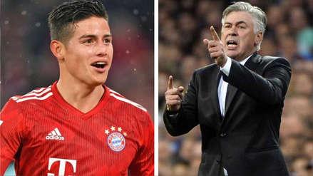 Carlo Ancelotti sobre James Rodríguez: