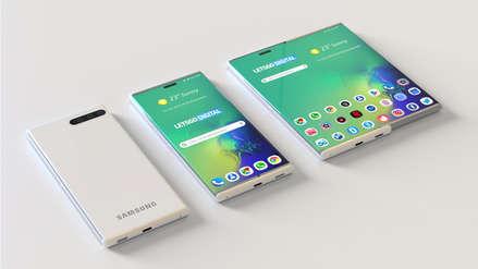 La revancha del Fold: Samsung patenta un teléfono con pantalla retráctil