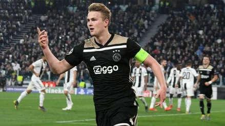 Ajax ya le encontró un reemplazante a Matthijs de Ligt ante su inminente partida a Juventus