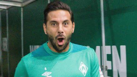 Werder Bremen hizo el 'Face App Challenge' con Pizarro y este fue el resultado