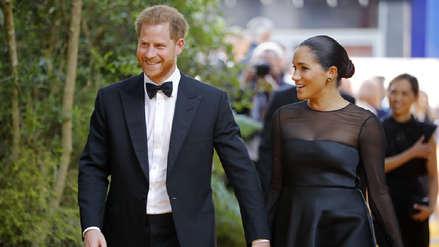 """Meghan Markle, el príncipe Harry y otros famosos que brillaron en el avant premier de """"El Rey León"""""""