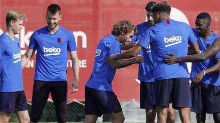 Antoine Griezmann sufrió 'callejón oscuro' en su primer entrenamiento en FC Barcelona