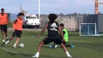 Hizo gatear a Keylor Navas: el golazo de Kubo en pretemporada del Real Madrid