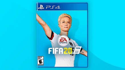 Megan Rapinoe en la portada de FIFA 20: Fans exigen reconocimiento a popular jugadora