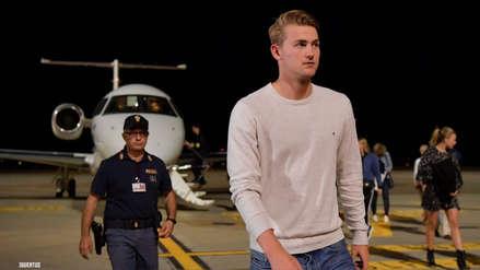 Matthijs De Ligt aterrizó en Turín para firmar su vínculo con Juventus