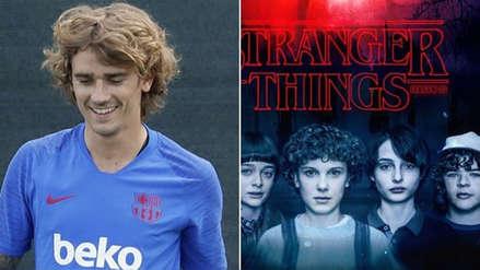 Barcelona: Antoine Griezmann se comparó con personaje de Stranger Things