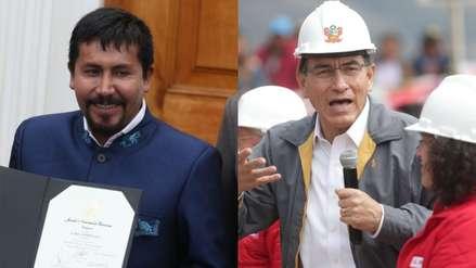 Gobernador de Arequipa da 72 horas a Martín Vizcarra para anular licencia de Tía María
