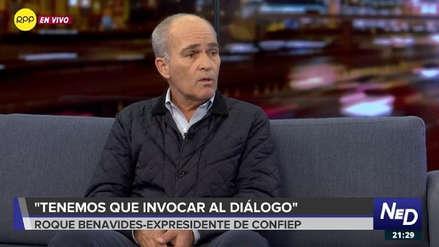 Roque Benavides cree que el proyecto Tía María se desarrollará