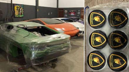 Policía de Brasil intervino una fábrica de autos de lujo falsificados