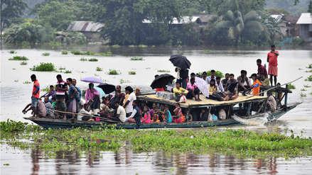 10 fotos de las inundaciones que azotan el sur de Asia y dejan más de 100 muertos