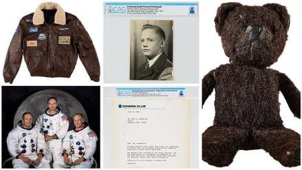 Los seis objetos de Neil Armstrong que se subastarán al cumplirse 50 años del viaje a la Luna [FOTOS]