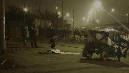 Dos jóvenes fueron asesinados de más de 30 balazos en Ventanilla