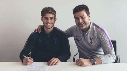 Hijo de Mauricio Pochettino firmó contrato como nuevo jugador del Tottenham
