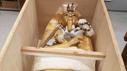 El misterioso ataúd de Tutankamón es restaurado por primera vez desde su descubrimiento